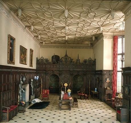 Một phòng khách của Anh năm 1550
