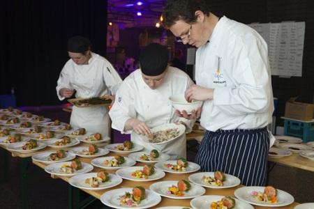 Lễ hội ẩm thực bang Tasmania còn là dịp để các đầu bếp nổi tiếng thế giới đến tranh tài.