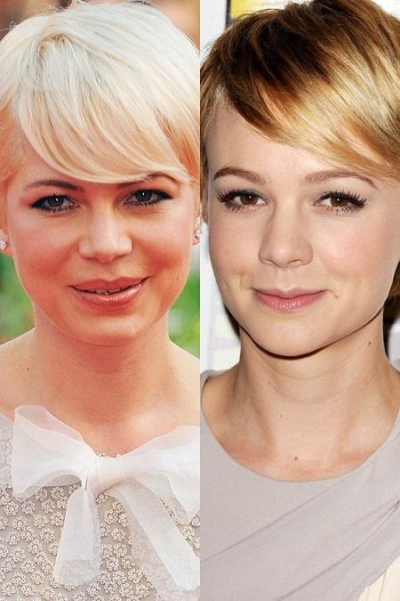 """Hai nữ diễn viên Carey Mulligan và Michelle Williams giống nhau """"như hai giọt nước""""."""