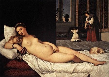 """Bức """"The Fornarina"""" (Nàng Fornarina) vẽ năm 1518, trưng bày tại lâu đài Palazzo Barberini, Rome, Ý."""