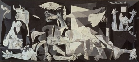 Kiệt tác Guernica (1937) của danh họa Pablo Picasso