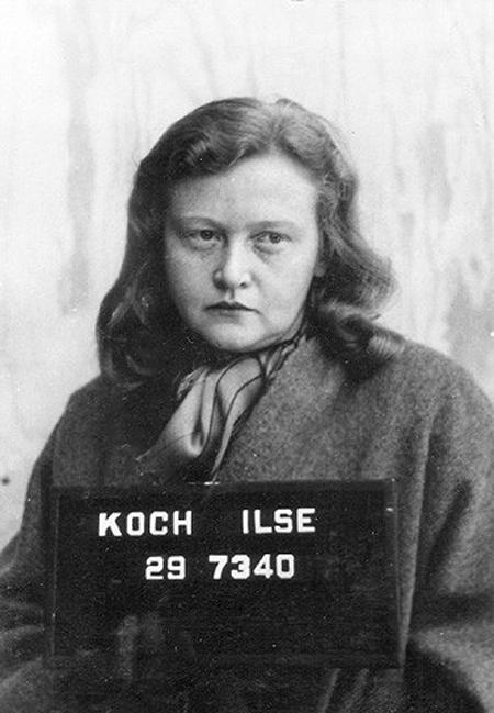 Chân dung Ilse Koch – phù thủy khát máu của Đức Quốc xã