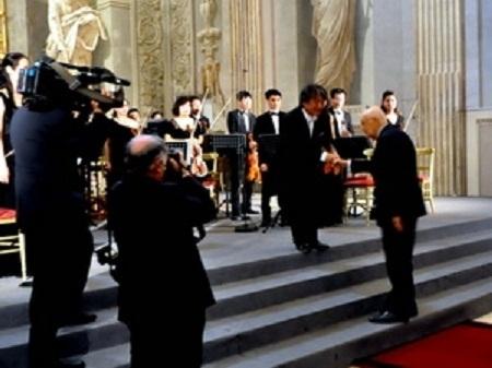 Nhạc Giao hưởng VN diễn tại Phủ Tổng thống Italy
