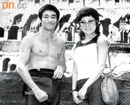 Lý Tiểu Long và Đinh Bội.