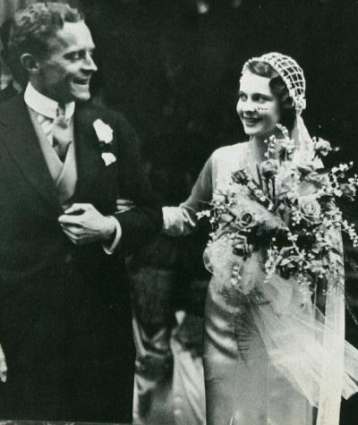 Vivien Leigh làm cô dâu ở tuổi 19