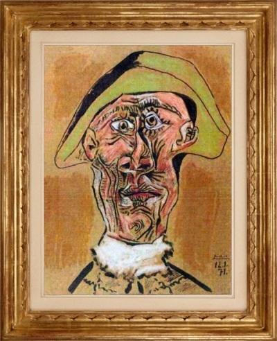 """Bức """"Tete d'Arlequin"""" của Pablo Picasso"""