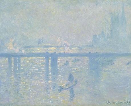 "Bức ""Charing Cross Bridge"" (Cầu Charing Cross) của Claude Monet"