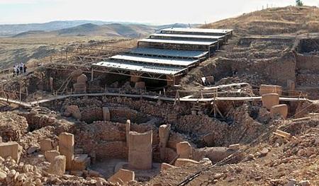 Quang cảnh địa điểm khai quật Gobekli Tepe