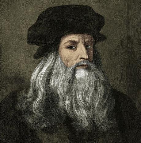 Danh họa Leonardo da Vinci.