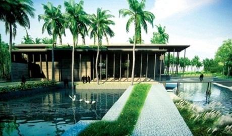 Mô hình Trung tâm quốc tế tại Quy Nhơn.