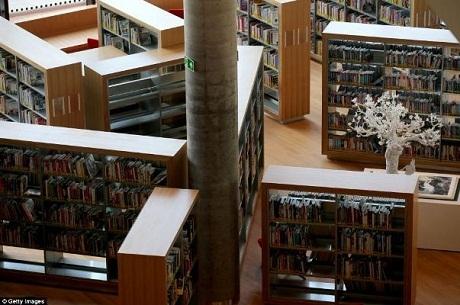 Dự đoán sẽ có hơn 3 triệu du khách đến thư viện hàng năm.