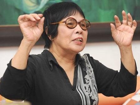 NSND - đạo diễn Phạm Thị Thành, người đầu tiên dàn dựng kịch Lưu Quang Vũ