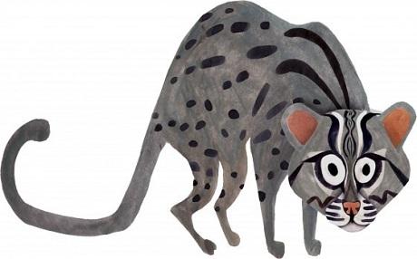 Khám phá động vật quý hiếm Việt Nam trên tranh họa sỹ Mỹ