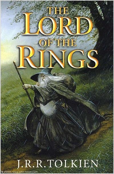 Lord of the Rings (Chúa tể những chiếc nhẫn) của JRR Tolkien cũng nằm trong danh sách.
