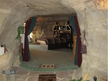 Khách sạn Kokopelli's Cave, thành phố Farmington, bang New Mexico, Mỹ