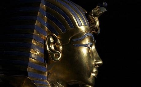 Quan tài vua Tutankhamun.