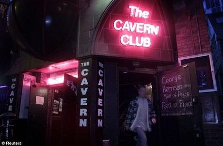 Quán Cavern Club hiện tại.