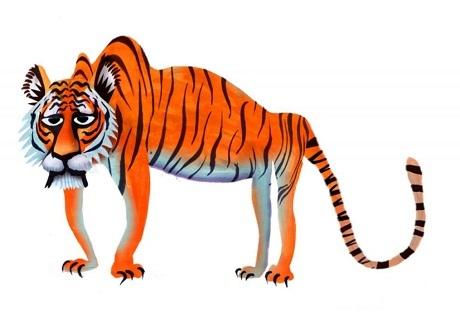 Hổ Đông Dương.