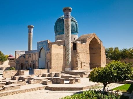 Lăng mộ của Timur.