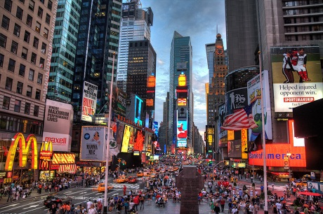 Đồng hạng 3 còn có thành phố New York, Mỹ với 8 chiếc ví được trả lại.