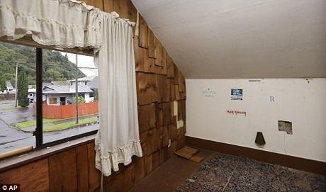 Ngôi nhà nơi Kurt Cobain từng sống những năm tháng ấu thơ bên gia đình.