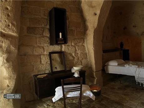 Khách sạn Sextantio Le Grotte della Civita, thành phố Matera, Ý