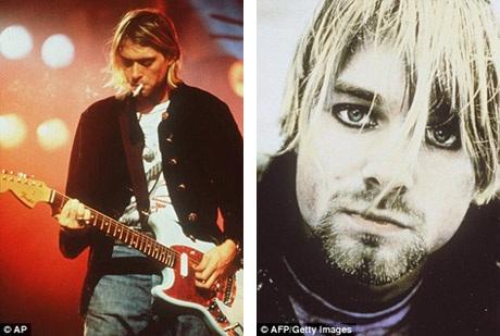 Bên trong gara nhỏ nhà Cobain.