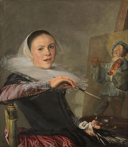 Chân dung tự họa của nữ họa sĩ Judith Leyster vẽ năm 1630.
