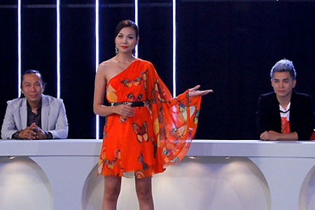 Vietnam's next top Model cũng bị cư dân mạng ném đá
