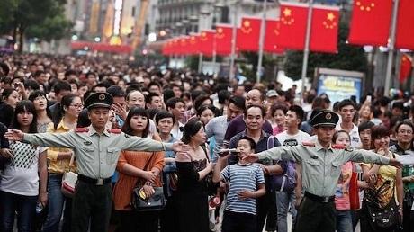 Nghẹt thở trước hình ảnh tuần lễ vàng du lịch ở Trung Quốc