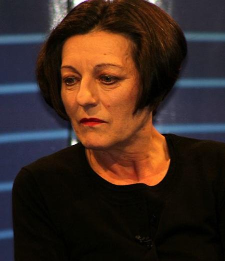 Chân dung nữ nhà văn Herta Muller