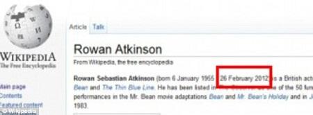 Mr. Bean tự sát?