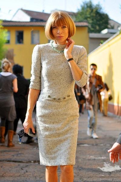 Tổng biên tập tạp chí thời trang Vogue - Anna Wintour - Năm được tôn vinh: 1997