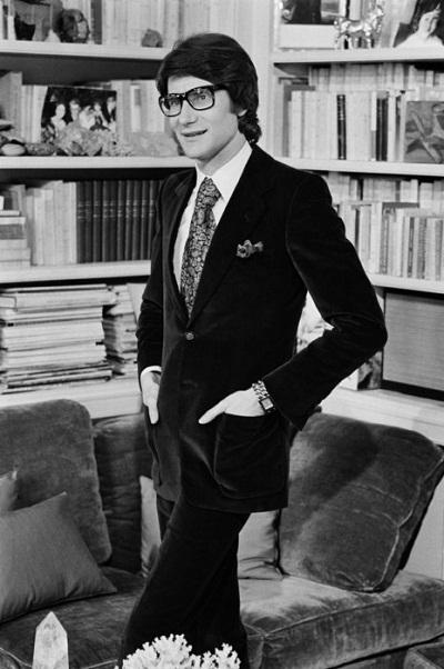 Nhà thiết kế thời trang Yves Saint Laurent - Năm được tôn vinh: 1975