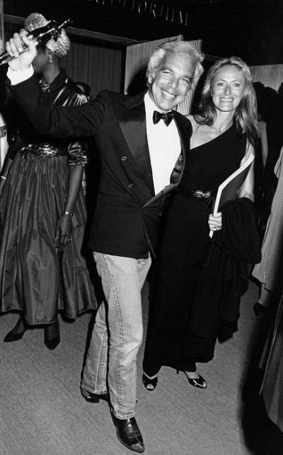 Nhà thiết kế thời trang Ralph Lauren - Năm được tôn vinh: 1995
