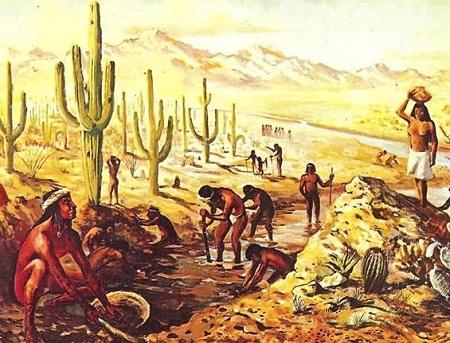 Cặp dấu chân duy nhất được tìm thấy còn nguyên vẹn trong sa mạc Chihuahuan ở Mexico.