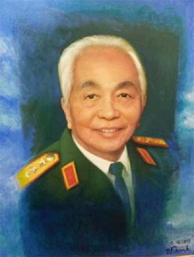 """Bức """"Chân dung Đại tướng Võ Nguyên Giáp"""""""