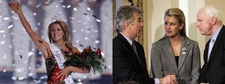 Người đẹp Kansas Theresa tại cuộc thi Hoa hậu Mỹ 2013 với hình xăm gây tranh cãi.