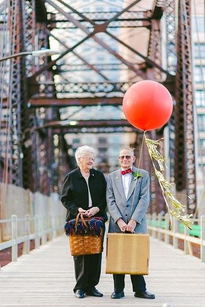 Giờ đây, sau 61 năm kết hôn, họ đã có được một bộ ảnh ưng ý.