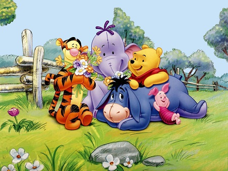 """""""Ôi, Pooh, thuyền của cậu đâu?"""", Christopher hỏi Pooh."""