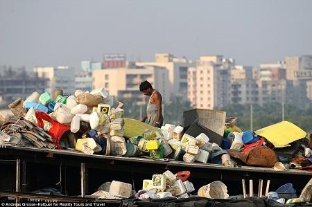 Dharavi là khu ổ chuột lớn nhất Châu Á.