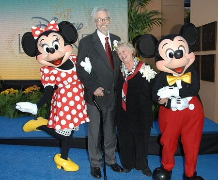 Hai người lồng tiếng cho chuột Mickey và chuột Minnie đã kết hôn với nhau ngoài đời thật.