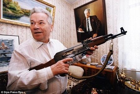 Sự hối hận của người thiết kế ra khẩu AK47 trong bức thư cuối đời