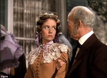 """Bà Alicia Rhett từng vào vai India Wilkes trong bộ phim kinh điển """"Cuốn theo chiều gió"""" (1939)."""