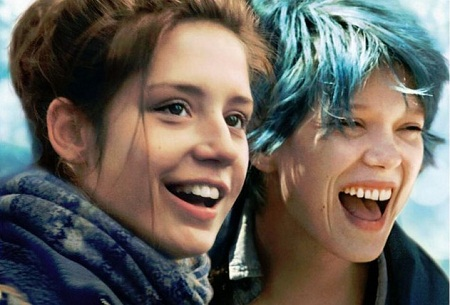 Cảnh trong phim Blue is the Warmest Colour