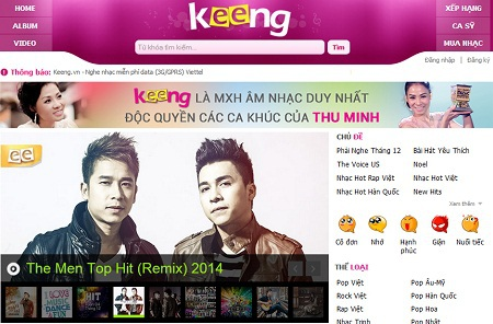 Bản quyền và độc quyền ca khúc trở thành một cuộc đua giữa các trang nhạc số