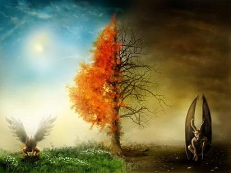 Thiên đường và địa ngục (Ảnh minh họa: livescience.com)