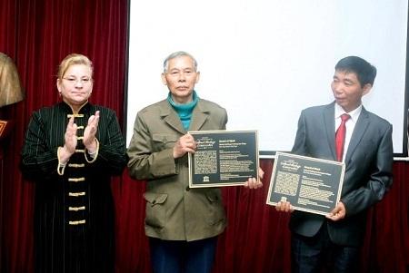 Trao giải thưởng cho Dự án bảo tồn nhà cổ Đường Lâm