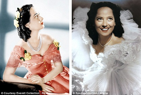 "Một cảnh diễn giữa Merle Oberon và Laurence Olivier trong phim ""Wuthering Heights""."