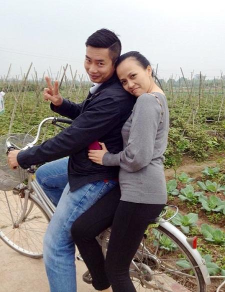 Bức ảnh ngộ nghĩnh của cặp vợ chồng Hoa Thanh Tùng